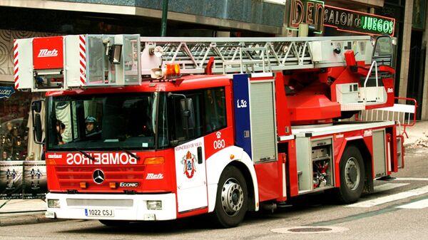 Пожарная машина в Испании