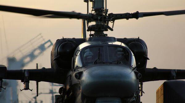 Вертолет Ка-52К. Архивное фото