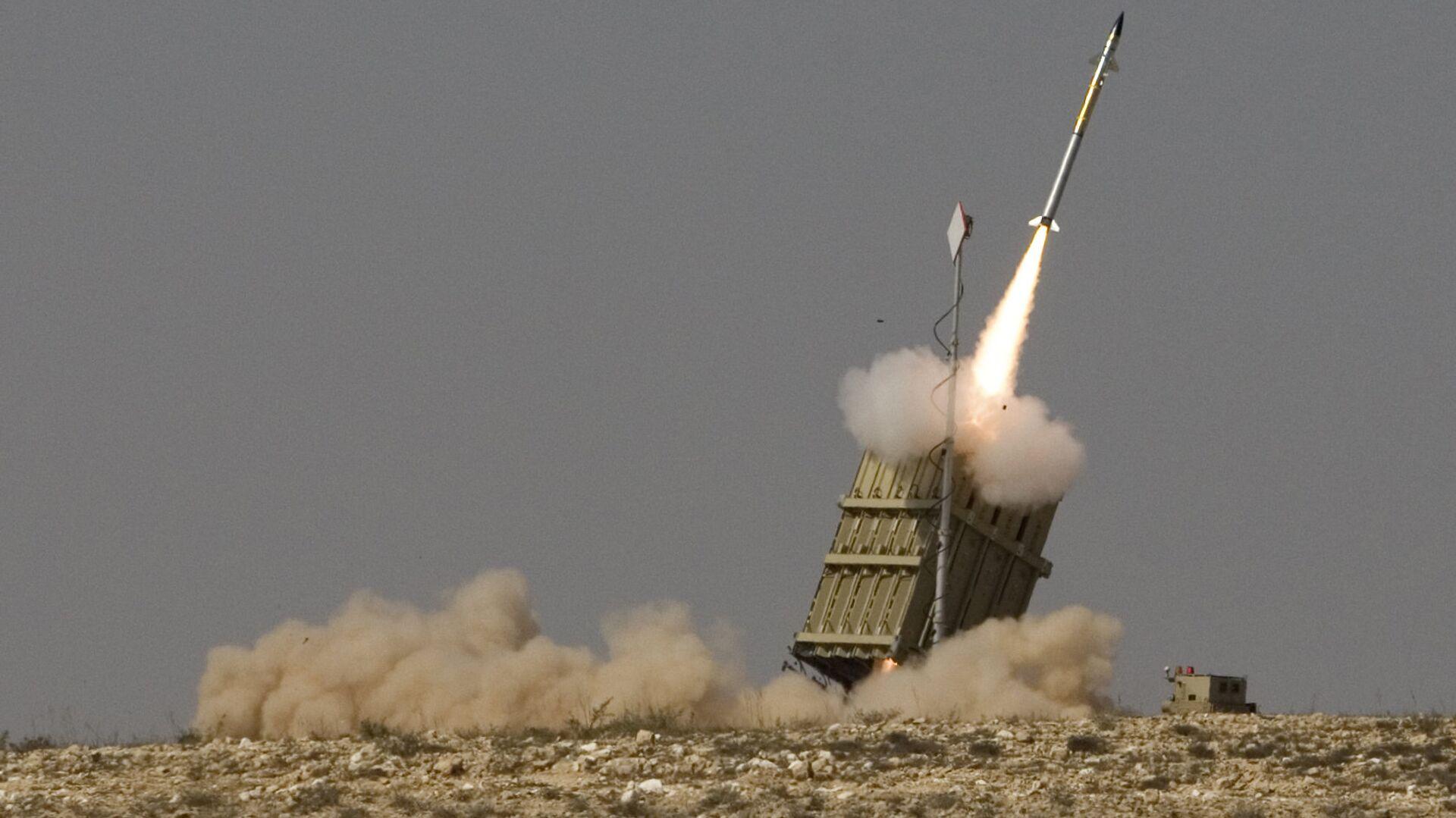 Израиль заявил о пуске ракеты из сектора Газа