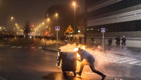 Протесты против полицейского насилия во Франции. Архивное фото