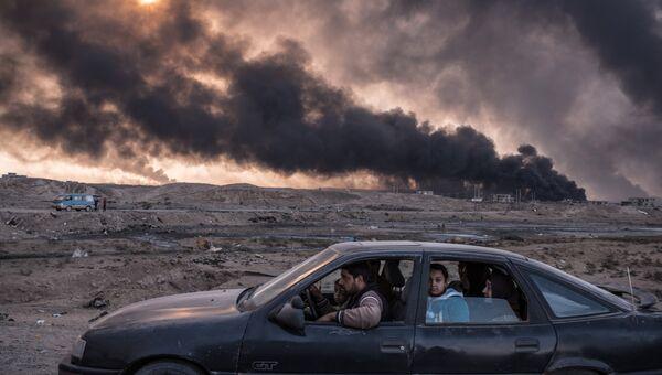 Iraq's Battle to Reclaim Its Cities фотографа Сергея Пономарева занявшего второе место в категории События в фотоконкурсе World Press Photo