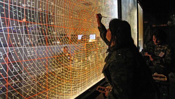 Командный пункт управления учений войск ПВО