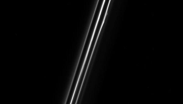 Три слоя кольца F Сатурна