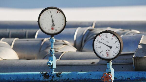 Газовый трубопровод. Архивное фото