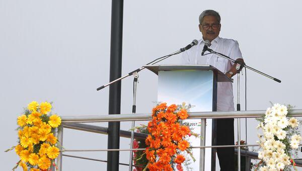 Министр обороны Индии Манохар Паррикар. Архивное фото