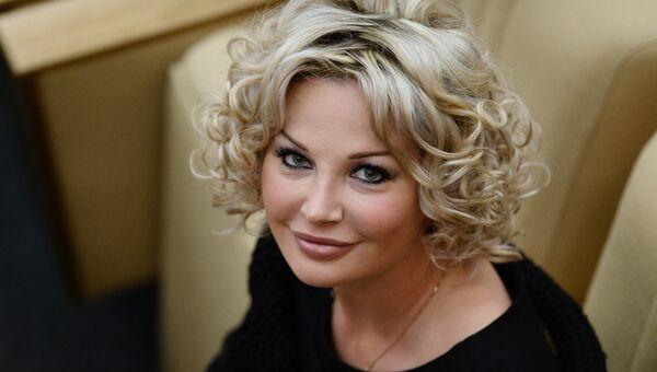 Депутат Государственной Думы РФ Мария Максакова-Игенбергс. Архивное фото