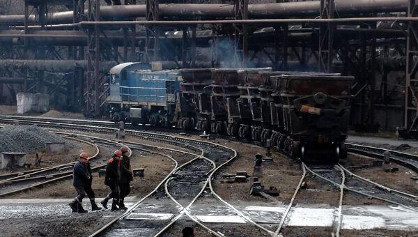 Завод в Донбассе. Архивное фото