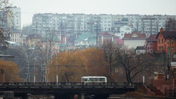 Мост через реку Воронеж в Липецке