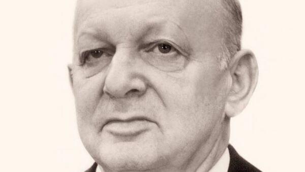 Конструктор ядерных зарядов Давид Фишман. Архивное фото