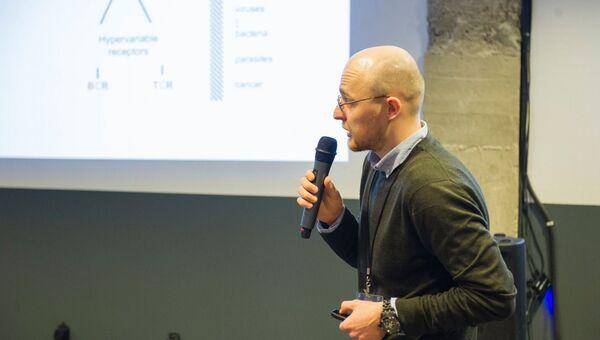 Иван Звягин, молодой ученый из Института биоорганической химии РАН