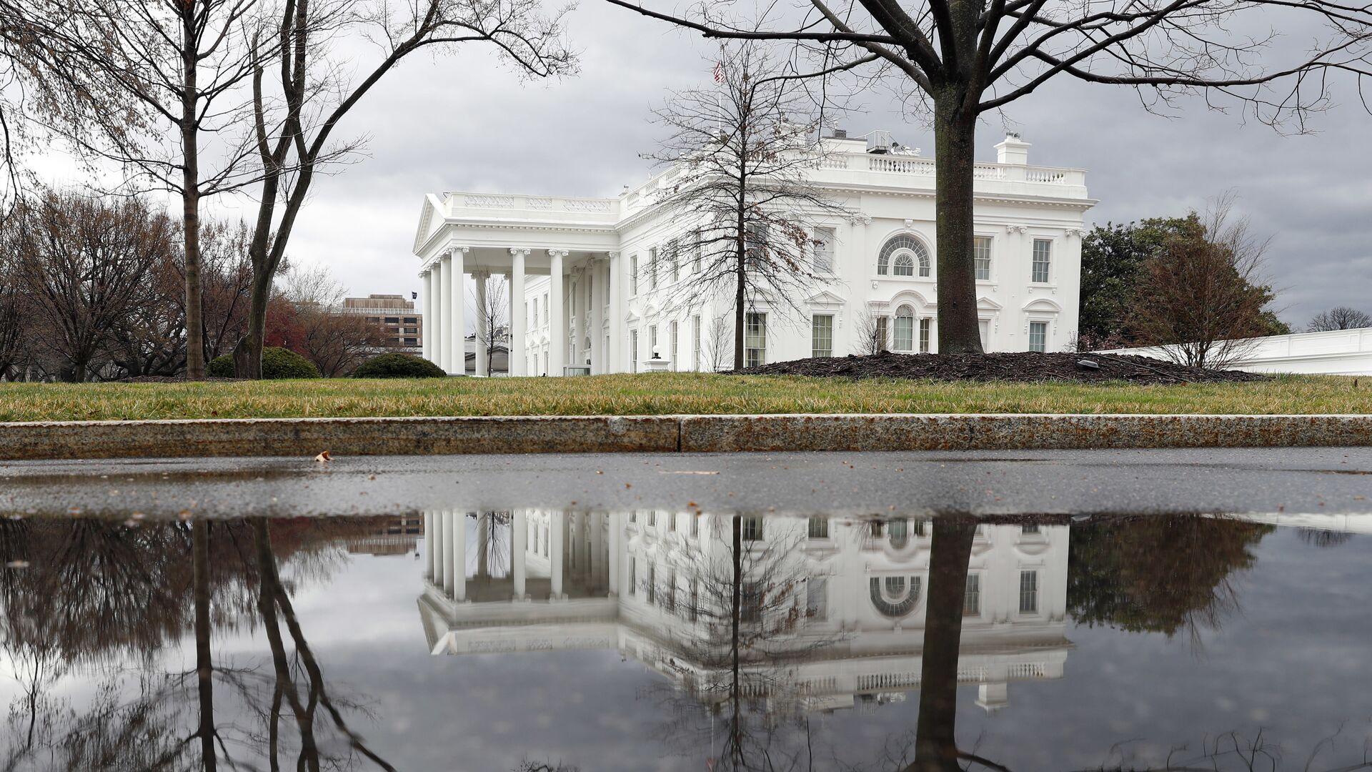Здание Белого дома в Вашингтоне, США - РИА Новости, 1920, 03.06.2020