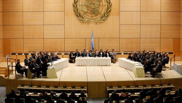 Межсирийские переговоры в Женеве. 23 февраля 2017 года