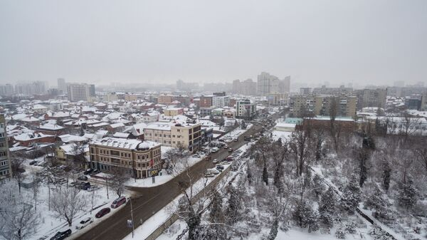 Зима в Краснодаре