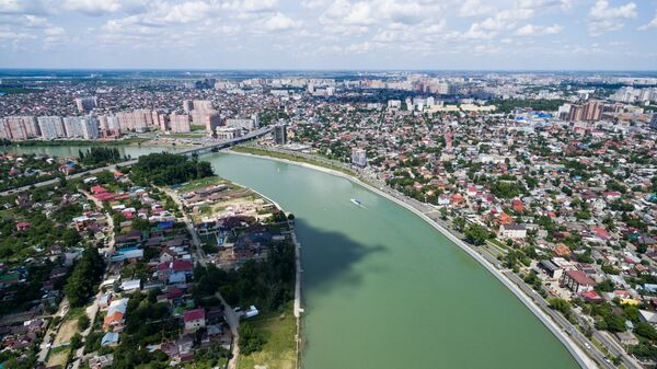 Города России. Краснодар. Архивное фото