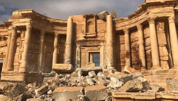 Историко-архитектурный комплекс Древней Пальмиры в сирийской провинции Хомс