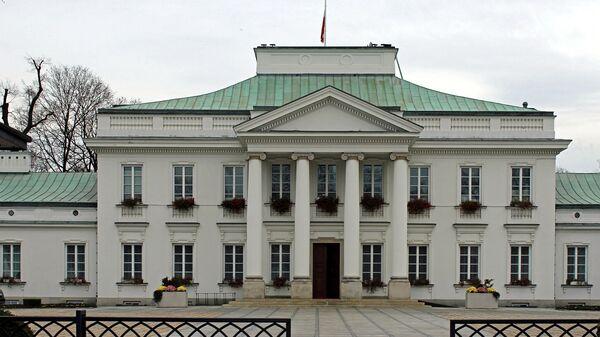Президентский дворец Бельведер в Варшаве. Архивное фото
