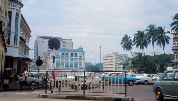 В центре города Куала-Лумпур. Архивное фото