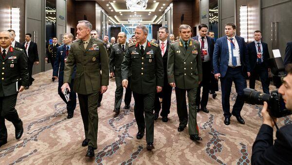 Трехсторонняя встреча начальников генеральных штабов России, Турции и США в Анталии