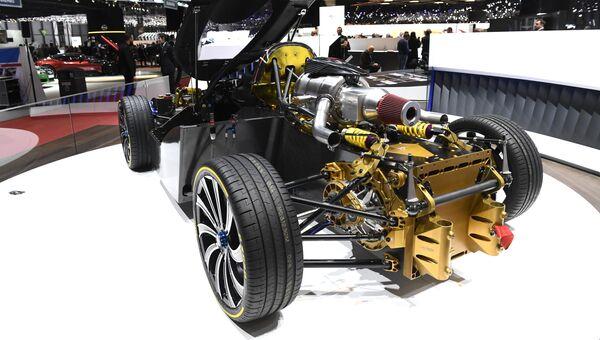 Электромобиль Techrules REN на Женевском международном автосалоне