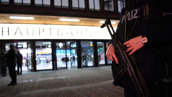 Полиция в Дюссельдорфе. Архивное фото