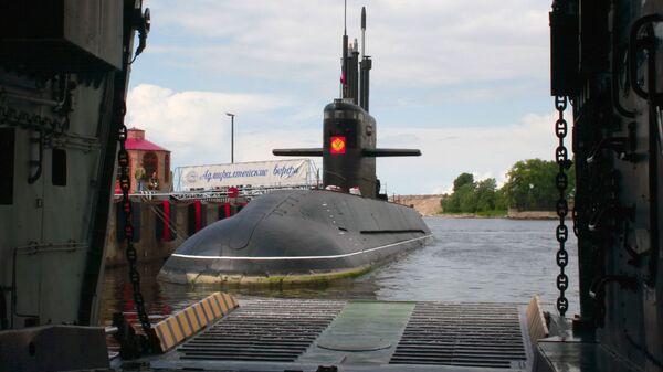 Дизельная подводная лодка Санкт-Петербург проекта Лада