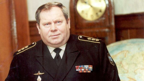 Адмирал Владимир Валуев. Архивное фото