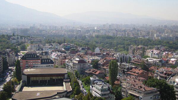Вид столицы Болгарии Софии. Архивное фото