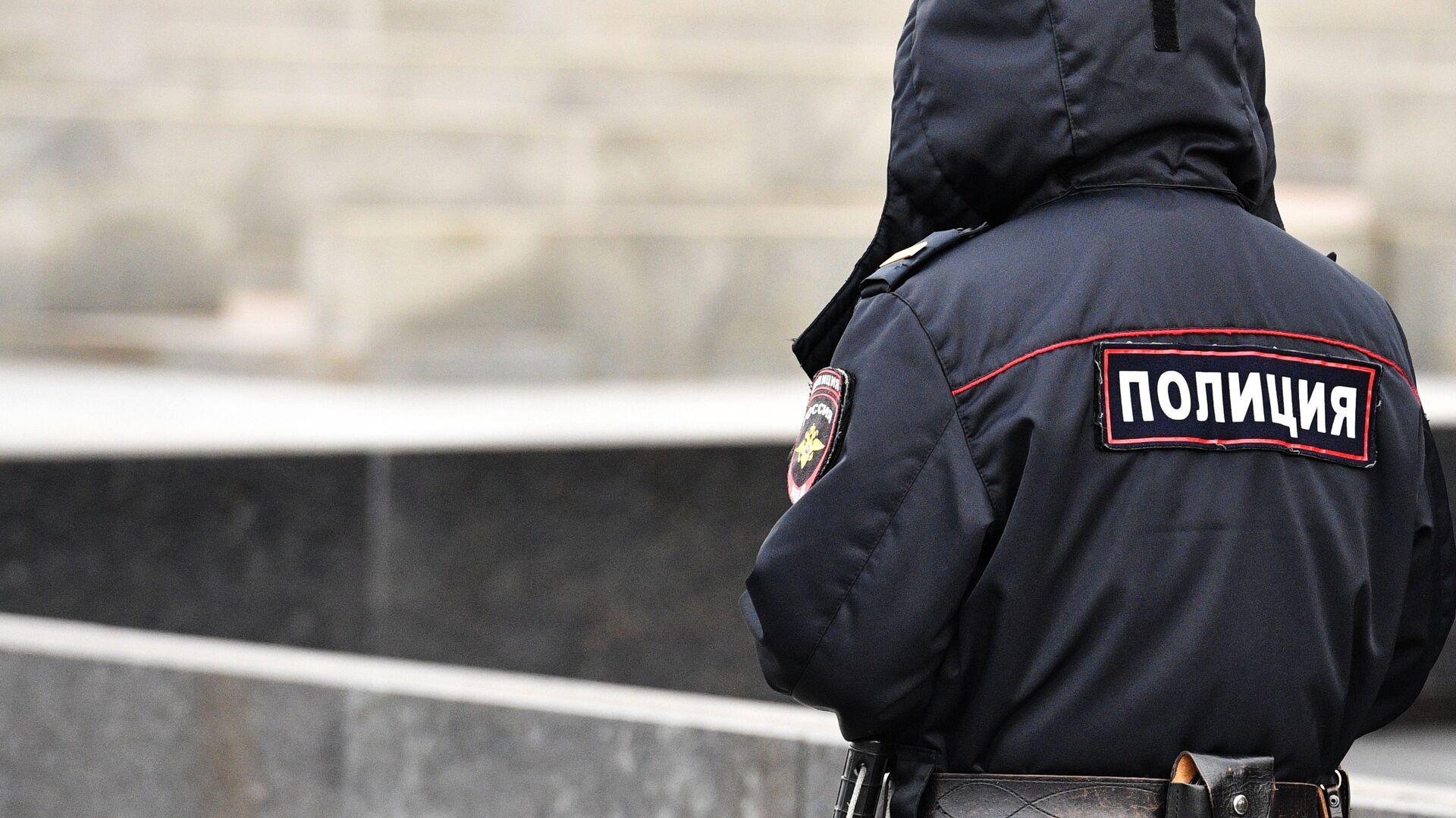 Сотрудник полиции - РИА Новости, 1920, 03.12.2020
