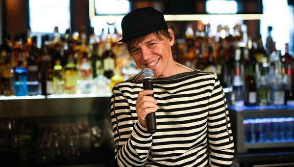 Рок-музыкант, лидер группы Мумий Тролль Илья Лагутенко. Архивное фото