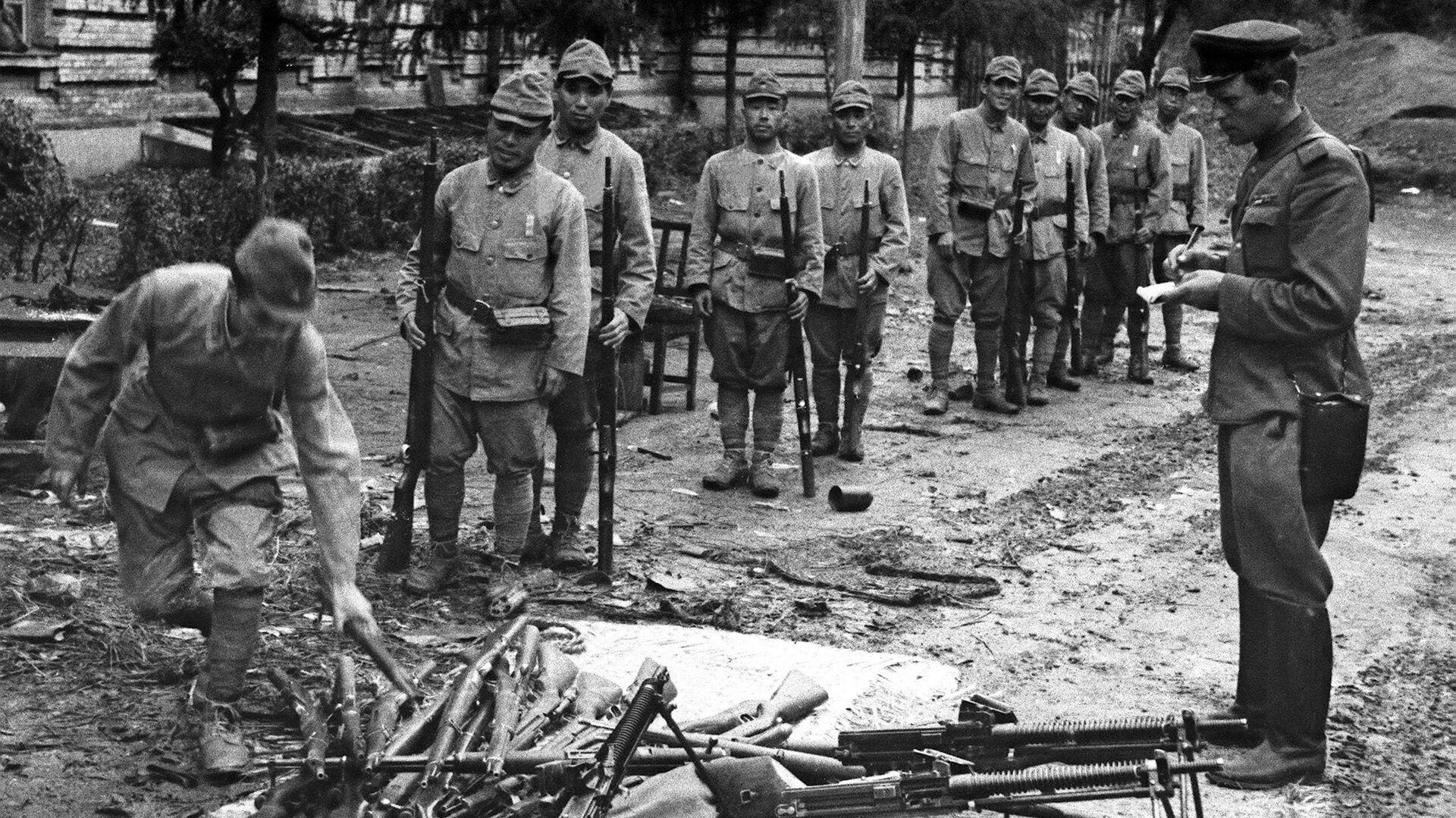 Капитуляция войск Квантунской армии - РИА Новости, 1920, 30.07.2020
