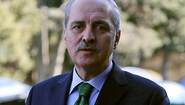 Заместитель премьер-министра Турции с 2014 года Нуман Куртулмуш. Архивное фото