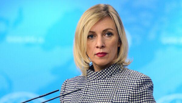 Официальный представитель министерства иностранных дел России Мария Захарова. Март 2017