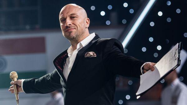Актер Дмитрий Нагиев на съемках эпизода фильма Кухня. Последняя битва. Архивное фото