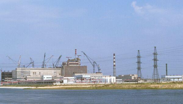 Здание первого блока Балаковской атомной электростанции. Архивное фото