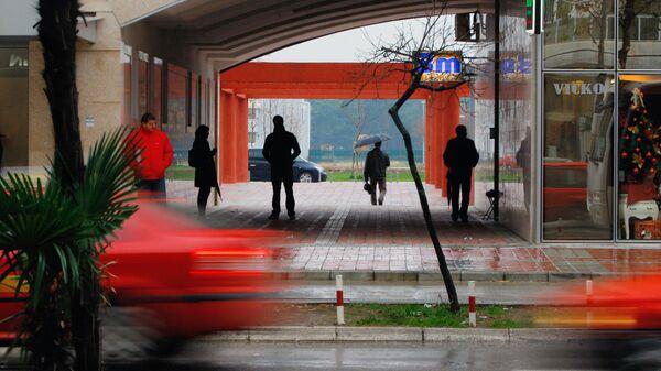 На улицах Подгорицы