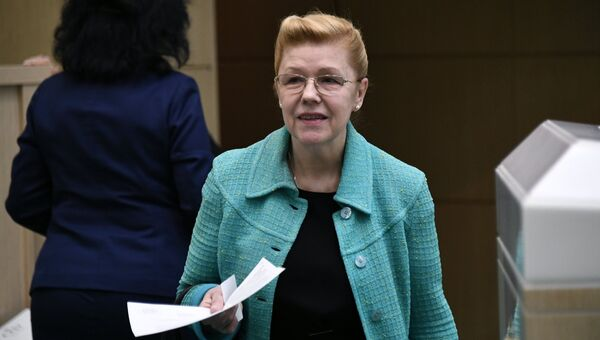 Заместитель председателя Комитета Совета Федерации по конституционному законодательству и государственному строительству Елена Мизулина. Архивное фото