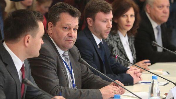 Глава делегации немецких политиков и бизнесменов псетивших Крым Андреас Маурер. архивное фото
