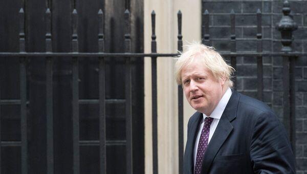 Министр иностранных дел Великобритании Борис Джонсон. Архивное фото