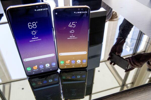 Samsung S8 и S8+ на презентации в Нью-Йорке