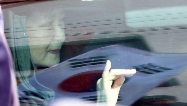 Экс-президент Южной Кореи Пак Кын Хе
