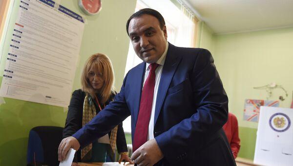 Парламентские выборы в Армении