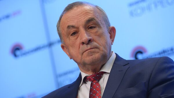 Глава Удмуртской Республики Александр Соловьев. Архивное фото
