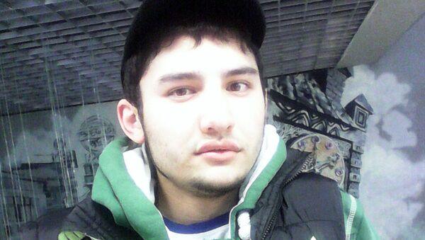 Акбаржон Джалилов (Фотография из аккаунта сети Вконтанте Акбаржона Джалилова 1995 года рождения). Архивное фото