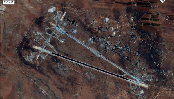 Аэродром Шайрат в Хомс, Сирия
