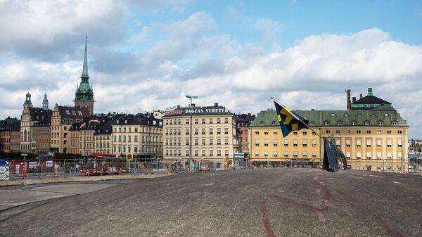Вид Стокгольма, архивное фото