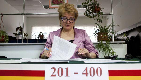 Выборы президента Южной Осетии и референдум о переименовании республики.