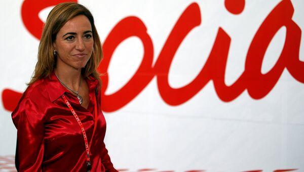 Первая испанская женщина, занимавшая пост министра обороны страны, Карме Чакон