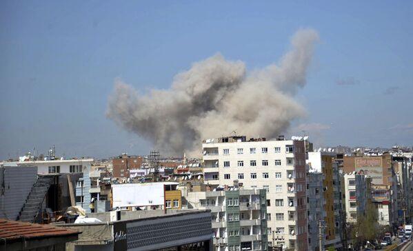 Взрыв в Диярбакыре, Турция. 11 апреля 2017