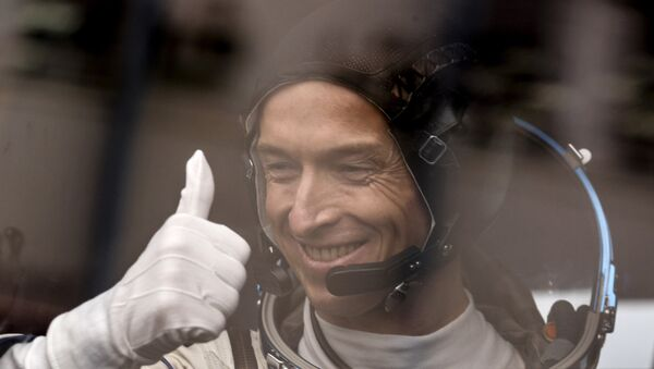 Космонавт Роскосмоса Сергей Рыжиков. Архивное фото