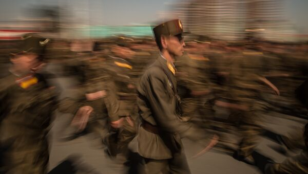 Военнослужащие Корейской народной армии. Архивное фото